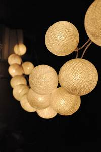 Cotton Ball Lights : 20 creative and unique lighting designs ~ Eleganceandgraceweddings.com Haus und Dekorationen