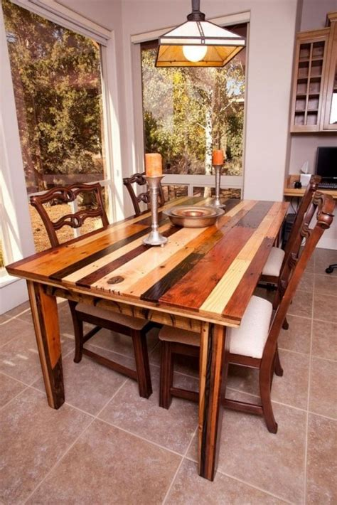 natural wood dining room table foter