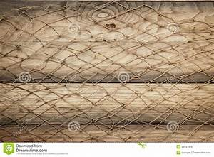 Wooden Background Texture And Fishing Net Royalty Free ...