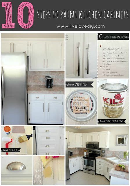 glaze kitchen cabinets 10 steps to paint your kitchen cabinets the easy way an 1244