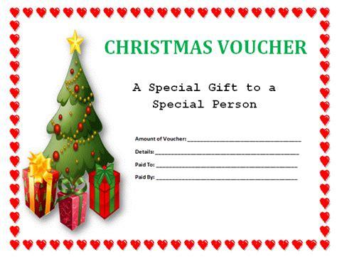 christmas gift voucher voucher templates voucher templates