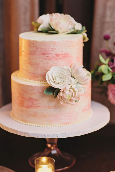 eye popping painted wedding cakes