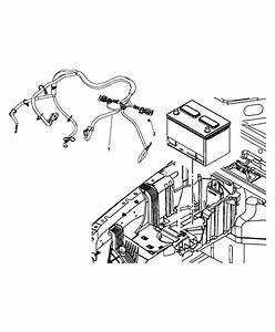 2012 Jeep Wrangler Battery Wiring