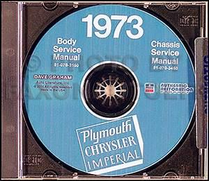 1973 Plymouth  U0026 Chrysler Cd Repair Shop Manual All Models