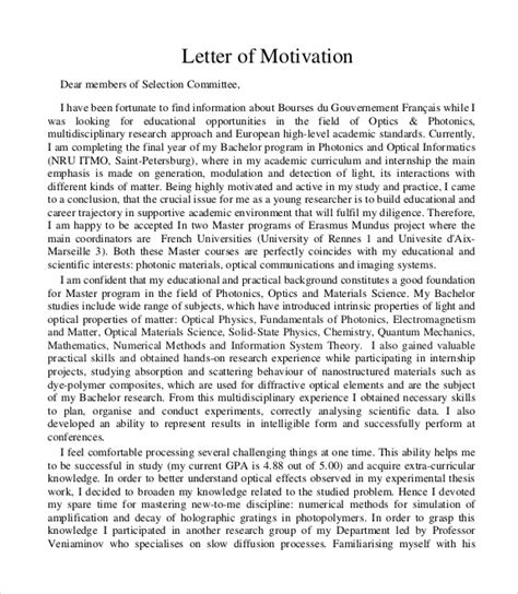 You might have heard about this term but may in this article, we are also going to provide you a free sample of a motivation letter by which you can take help and write one for yourself. FREE 4+ Sample Motivation Letter Templates in PDF | MS Word | Google Docs | Pages