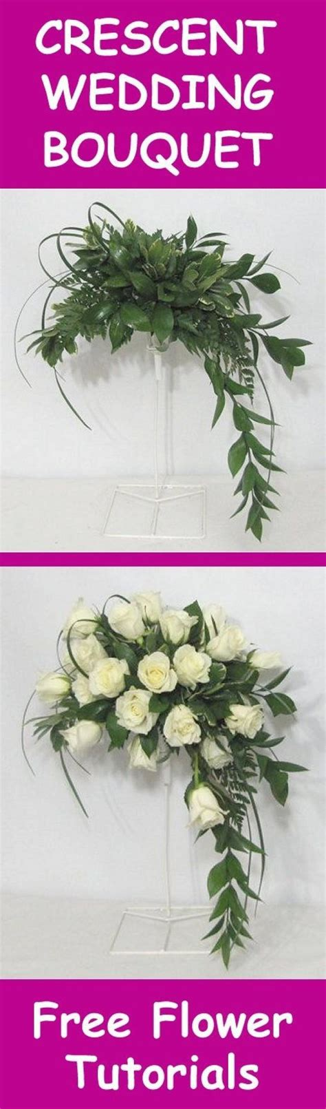 fresh flower wedding bouquet easy diy flower tutorials