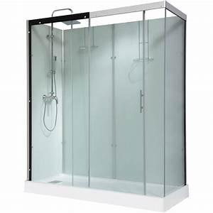 Grande Cabine De Douche : cabine de douche rectangulaire 180x80 cm thalaglass 2 ~ Dailycaller-alerts.com Idées de Décoration