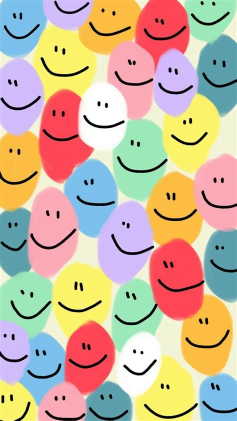 132+ Aesthetic Trippy Smiley Face