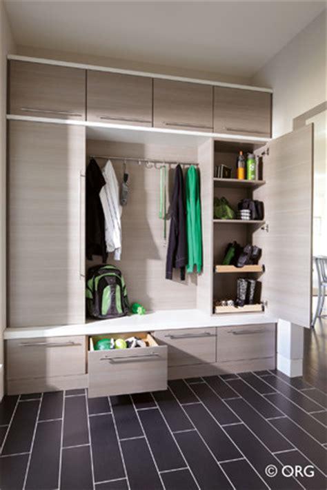 mudroom modern entry boston  inspired closets  andover
