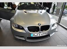 Exclusive Photos BMW M3 Coupe Frozen Silver