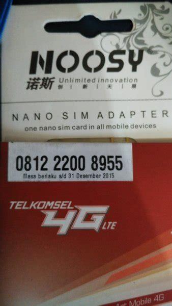 Jual Nocan Xl Kaskus jual simpati 4g nano sim card nomor cantik nocan