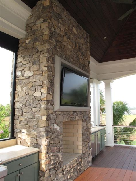 patio fireplace ideas transitional deck patio beth