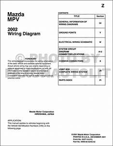 2002 Mazda Wiring Diagram