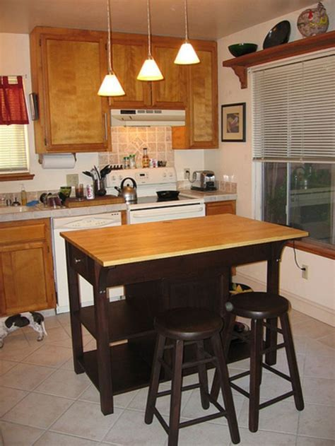 And Small Kitchen Island With Seating Design / design