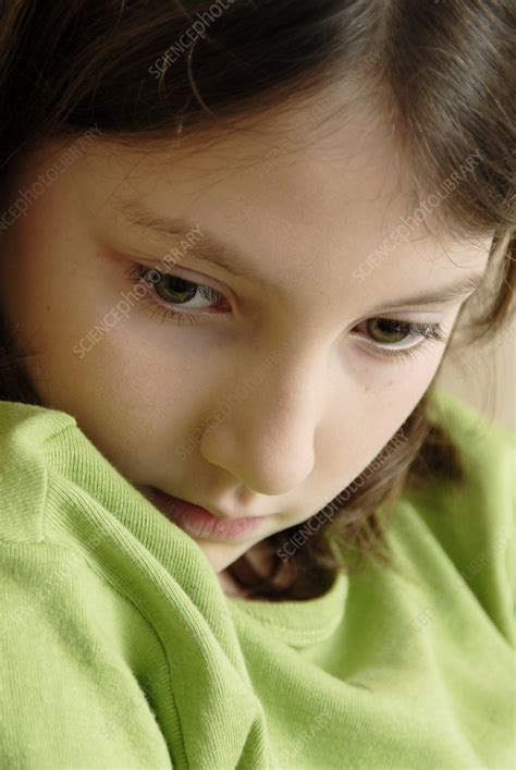 Upset Girl Stock Image M2451290 Science Photo Library