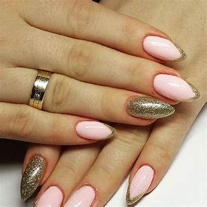38+ Pink And Gold Nail Art Designs - Related Nails