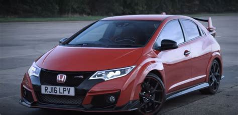 New Honda Nsx Drag Races Civic Type R With 5s Head Start