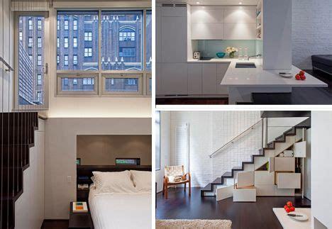 Kleine Loft Wohnung Manhattan Micro Loft Specht Harpman by Tiny Condo In New York Maximises Its Small Footprint