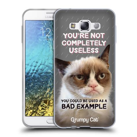 Official Grumpy Cat Quotes Soft Gel Case For Samsung Phones 3