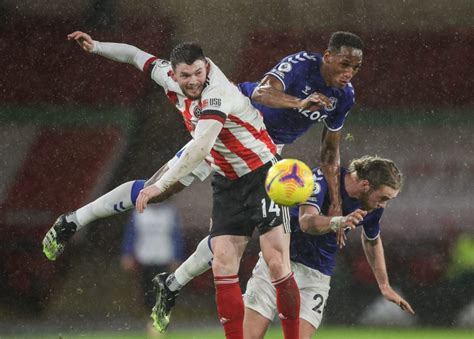 Everton player ratings vs Sheffield United- The 4th Official