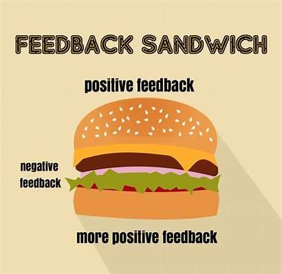 Feedback Sandwich Criticism Negative Stale Af Positive