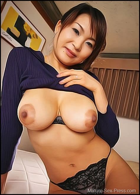 very hot mature japanese mom mature sex press