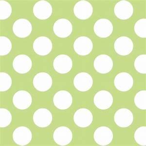 Polka Dot Green/White Removable Wallpaper - Contemporary ...