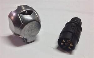 Conector Para Carreta Remolque Macho Y Hembra  Completo