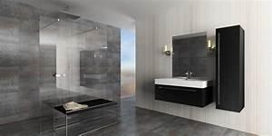 astuces deco salle de bain douche italienne With salle de bain design avec décoration tropicale