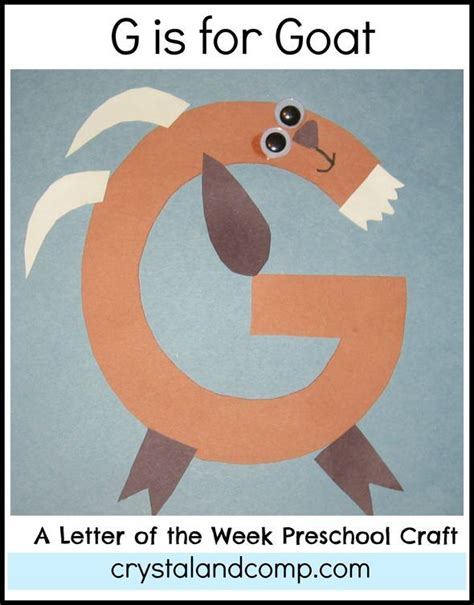 g is for goat letter of the week craft homeschooling 130 | 6fd36d6bf2ca5fd65aba5f6eaf75658d