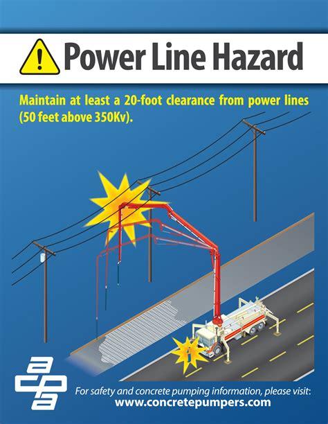 power  hazard american concrete pumping association