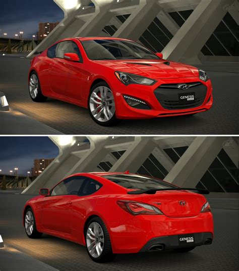 Hyundai Genesis Coupe Track by Hyundai Genesis Coupe 3 8 Track 13 By Gt6 Garage On