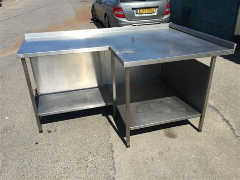 used stainless steel table with sink for sale stainless steel prep table kitchen cart retro kitchen