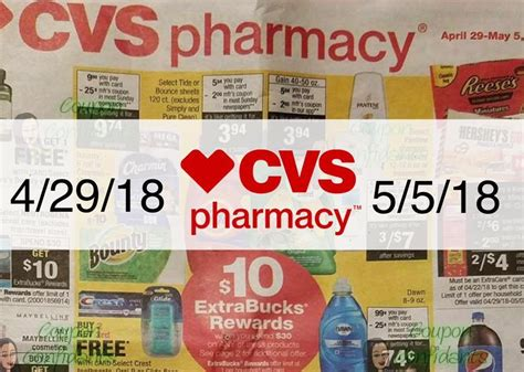 Cvs Sales by Cvs Sales Ad Scan 4 29 18 5 5 18 Page 4 Here S Your
