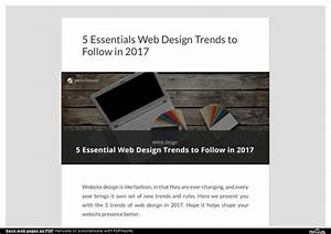 PPT 5 Essentials Web Design Trends to Follow in 2017
