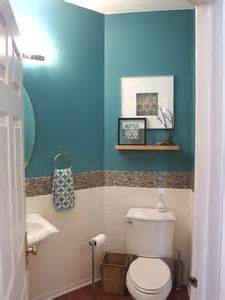 transitional eclectic tropical powder room