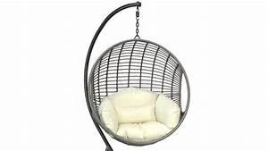 Fauteuil Suspendu Sur Pied : fauteuil oeuf suspendu ventes priv es westwing ~ Melissatoandfro.com Idées de Décoration