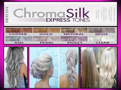 Pravana Chromasilk Hair Color Express Tones Colors 3 Oz
