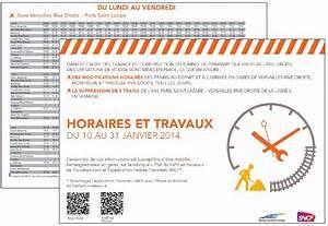 Travaux ligne L du 10 au 31 janvier 2014