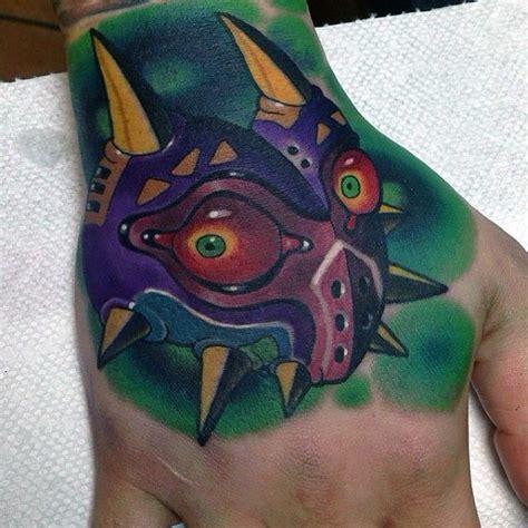 majoras mask tattoo designs  men  legend