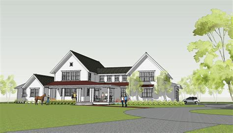 one farmhouse plans simply home designs modern farmhouse by brenner architects