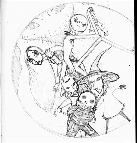 nightmare before coloring pages free nightmare before coloring pages printable