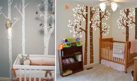 Deco Chambre Ados - la déco forêt pour chambre bébé une affaire d