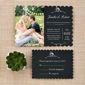 trending bracket rustic chalkboard wedding invitations With wedding invitations with photograph