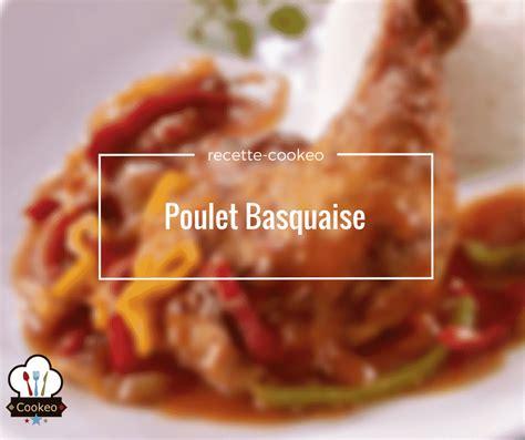 minuterie cuisine poulet basquaise recette cookeo