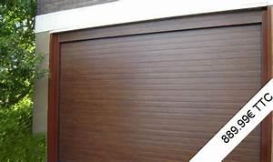 Porte Garage Sectionnelle Prix : portes de garage sectionnelles closeo ~ Edinachiropracticcenter.com Idées de Décoration