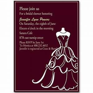 chic wedding dress templates bridal shower invitation With samples of wedding shower cards