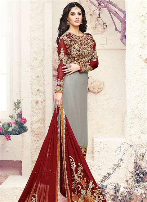 latest indian party wear salwar suits collection