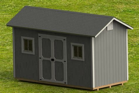 build outdoor shed 8 x 16 garden shed detailed building plans diy plans