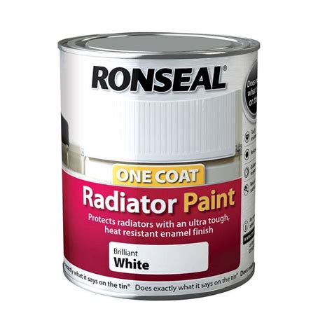 Ronseal Cupboard Paint by Ronseal Cupboard Melamine Paint White 750ml